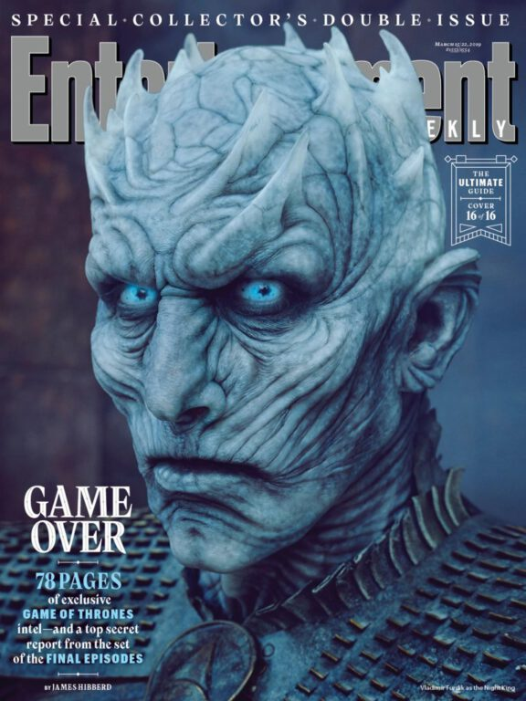 The Night King on Game of Thrones
