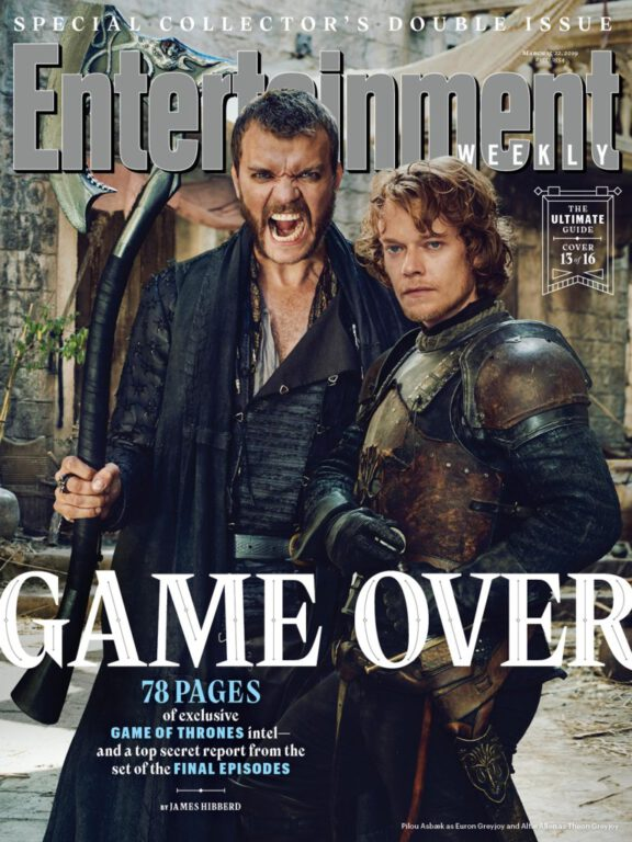 Euron and Theon Greyjoy on Game of Thrones