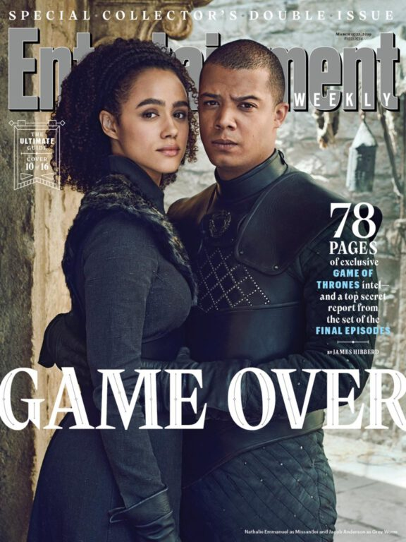Missandei and Grey Worm on Game of Thrones