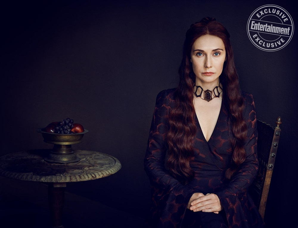 Melisandre on Game of Thrones