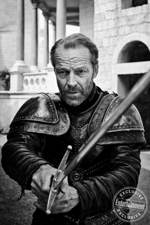 Jorah Mormont on Game of Thrones