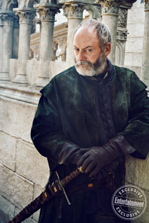 Davos Seaworth on Game of Thrones