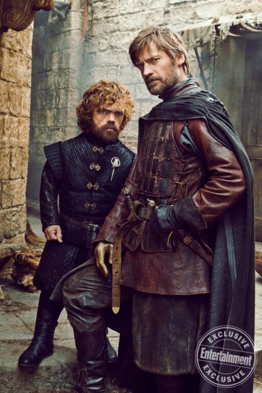 Tyrion and Jaime Lannister in Game of Thrones