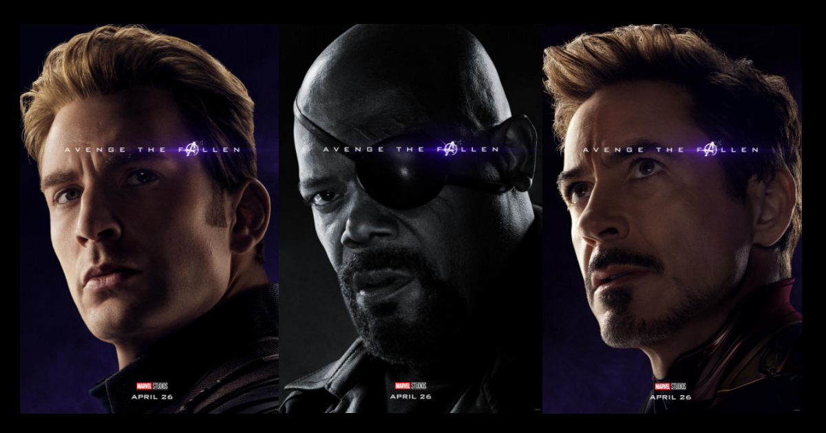 New AVENGERS: ENDGAME Character Posters Confirms the Survivors and the Fallen