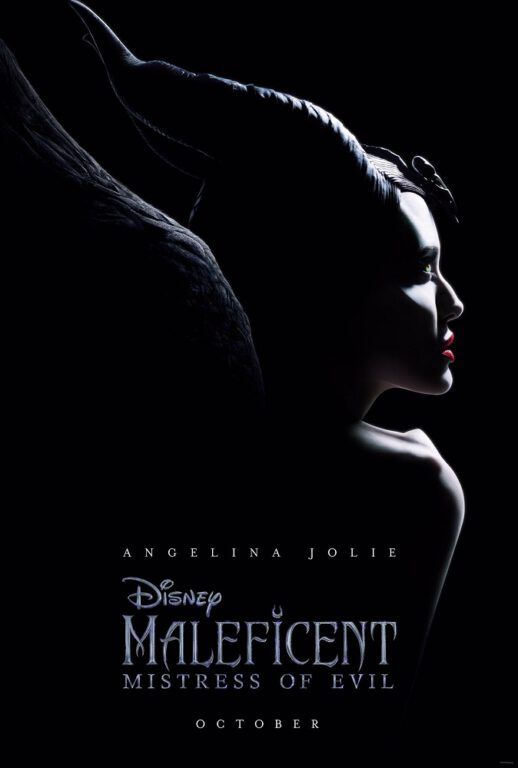 Official Poster for Maleficent: Mistress of Evil.