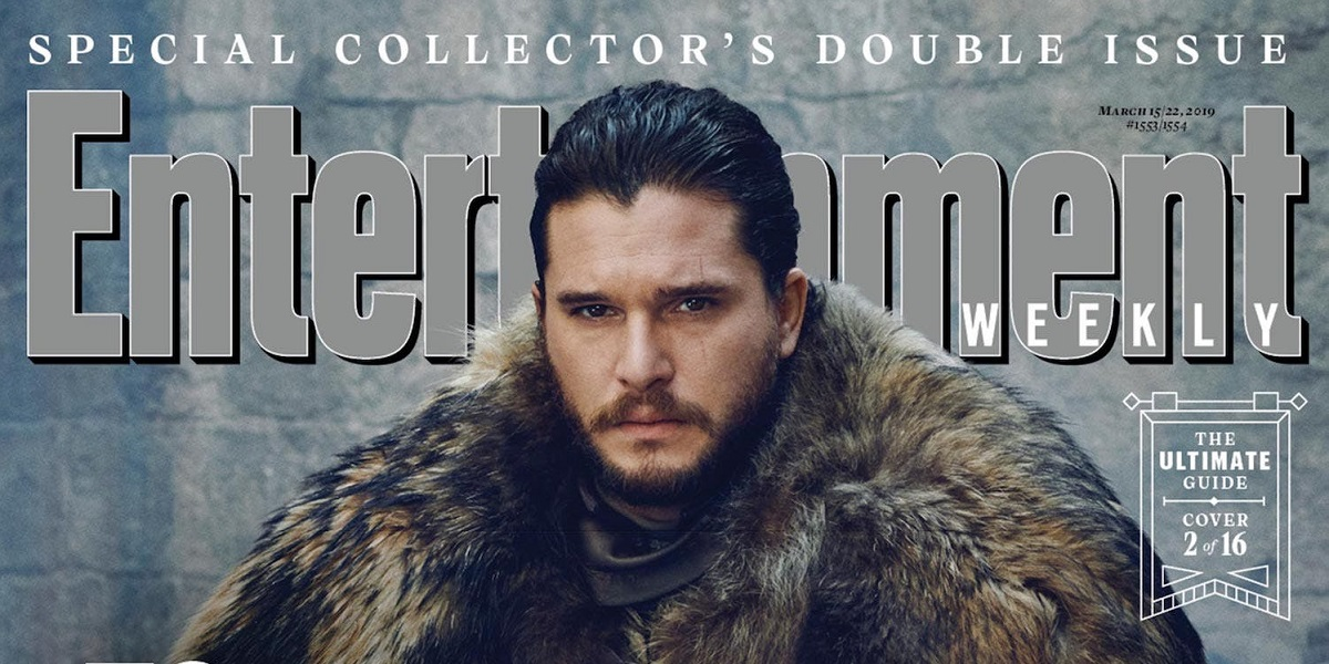 EW Reveals 16 GAME OF THRONES Season 8 Cover Photos
