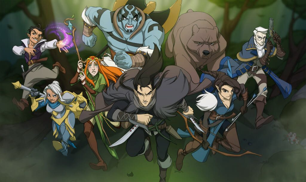 Let's Help Critical Role Fund THE LEGEND OF VOX MACHINA Animated Special