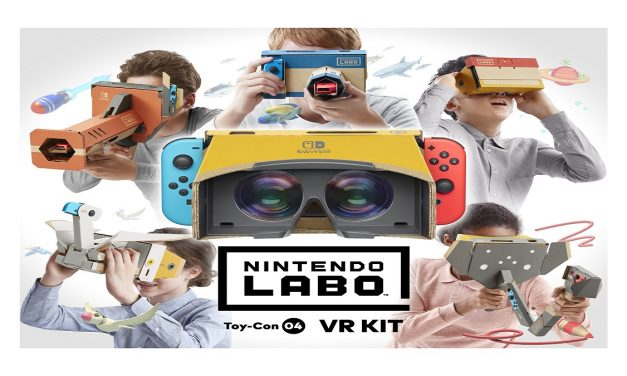 Nintendo Introduces New Labo VR Kit