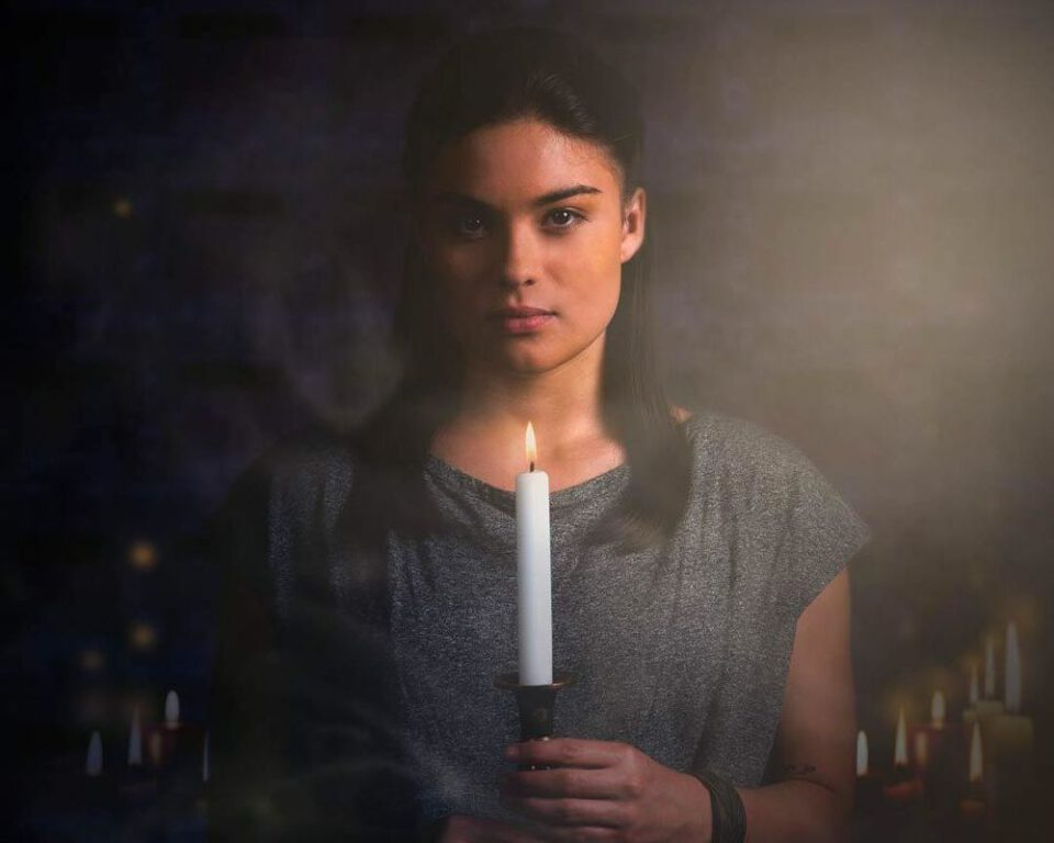 Devery Jacobs as Lilith Bathory on The Order.