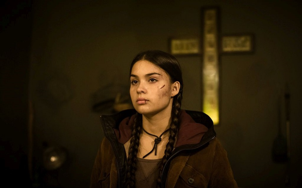Devery Jacobs as Alia in Rhymes for Young Ghouls