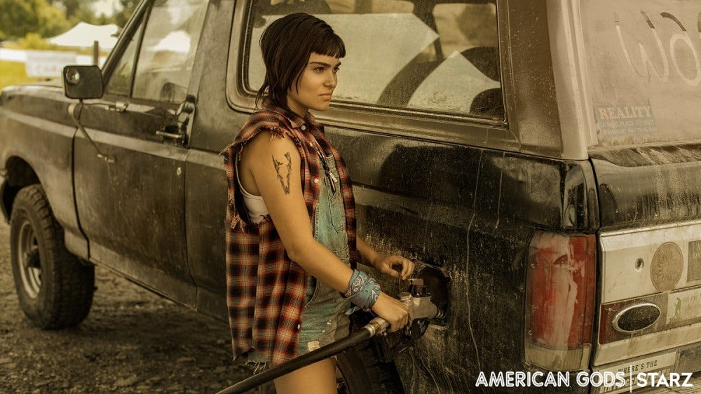 Devery Jacobs as Sam Black Crow in American Gods