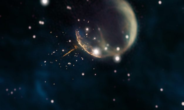 NASA's Fermi Satellite Records Speed of Super Fast 'Cannonball' Pulsar