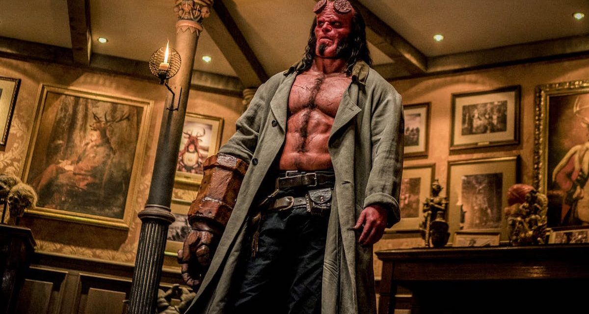HELLBOY Red Band Trailer Is Raising Some Hell