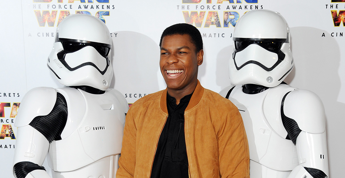 John Boyega Geeks Out Over STAR WARS: EPISODE IX Gifts from JJ Abrams