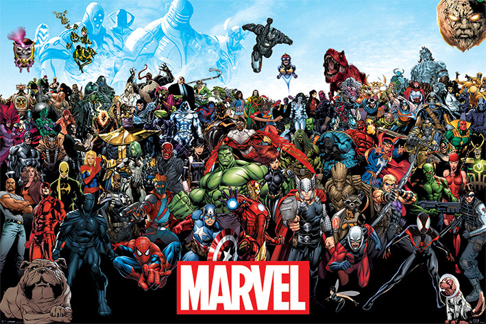 Marvel's Origins and a Timeline Showing 101 Marvel Character Debuts