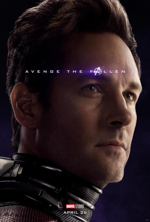 Paul Rudd as Scott Lang/Ant-Man in Avengers: Endgame