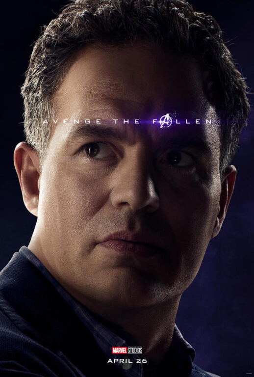 Mark Ruffalo as Bruce Banner/The Hulk in Avengers: Endgame.