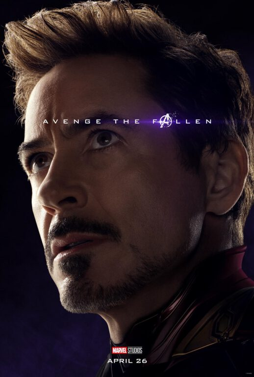Robert Downey Jr. as Tony Stark/Iron Man in Avengers: Engame