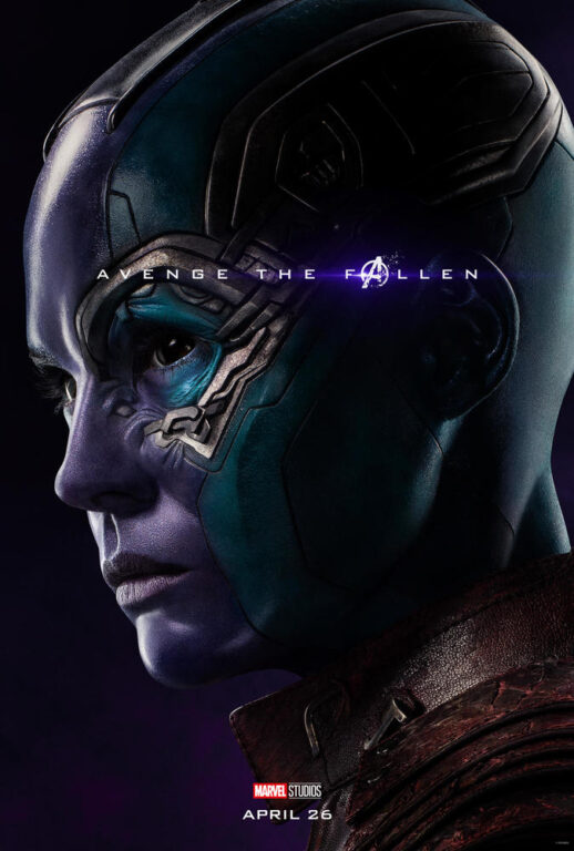 Karen Gillan as Nebula in Avengers: Endgame.