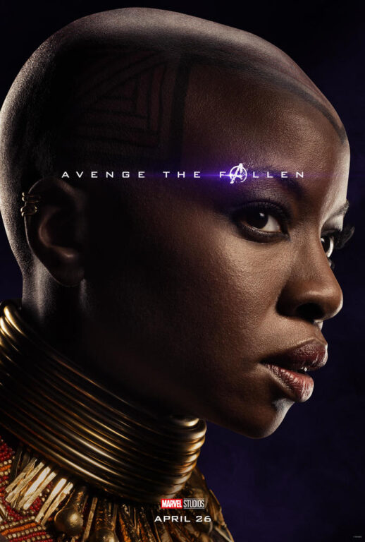Danai Gurira as Okoye in Avengers: Endgame.