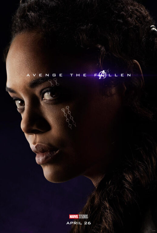 Tessa Thompson as Valkyrie in Avengers: Endgame