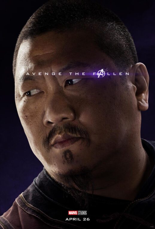 Benedict Wong as Wong in Avengers: Endgame