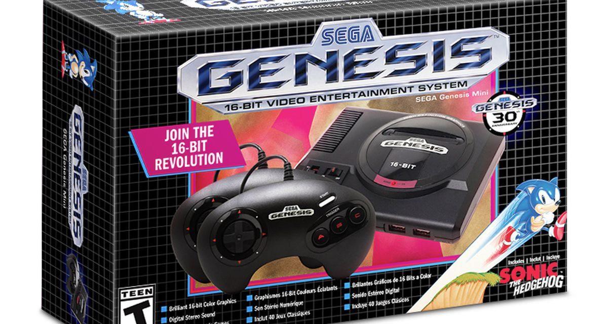 SEGA Genesis Mini Arrives This Fall With 40 Games