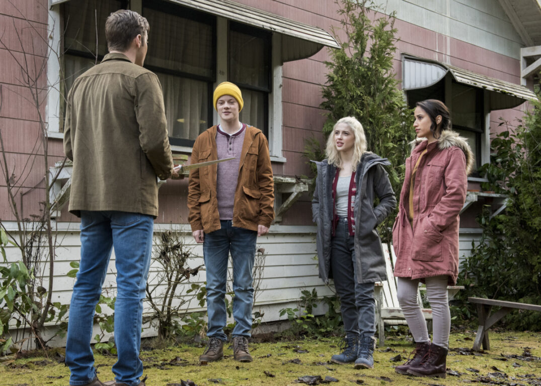 Jack tries to make new friends on Supernatural, Don't Go In the Woods
