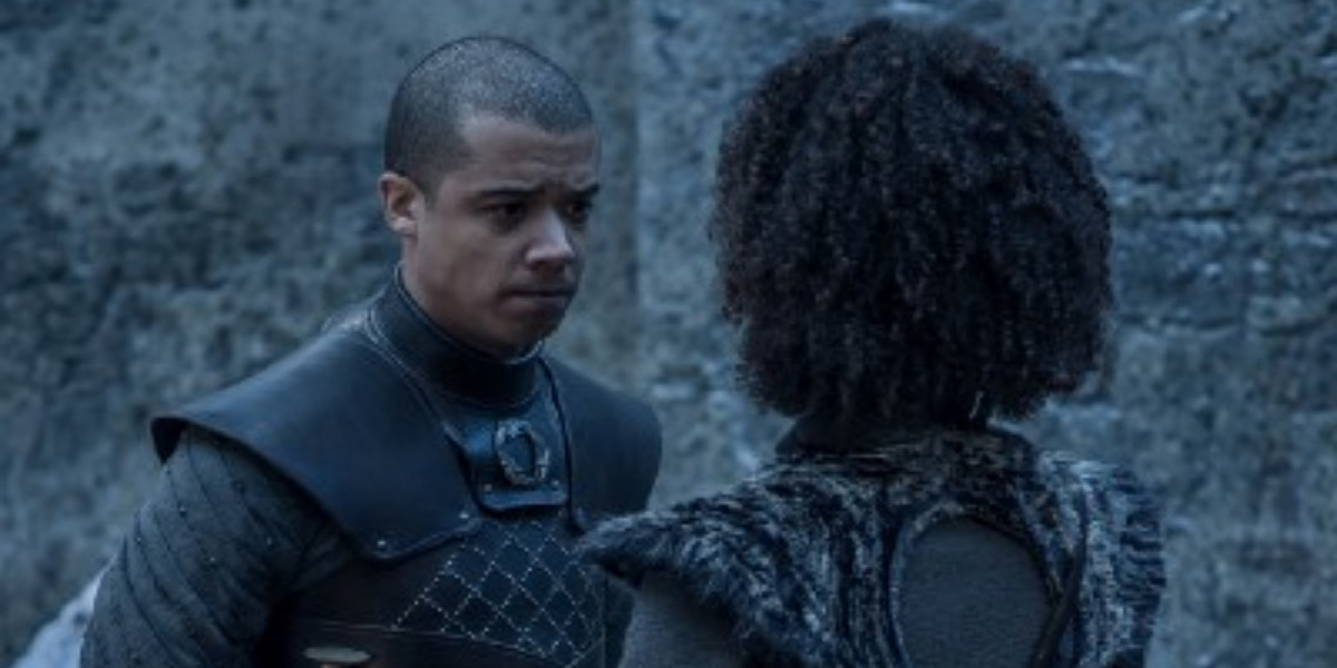 Grey Worm pledges to build a future with Missandei