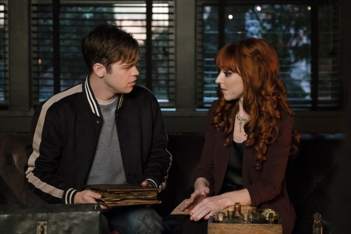 "Jack asks for Rowena's help on Supernatural, ""Absence"""