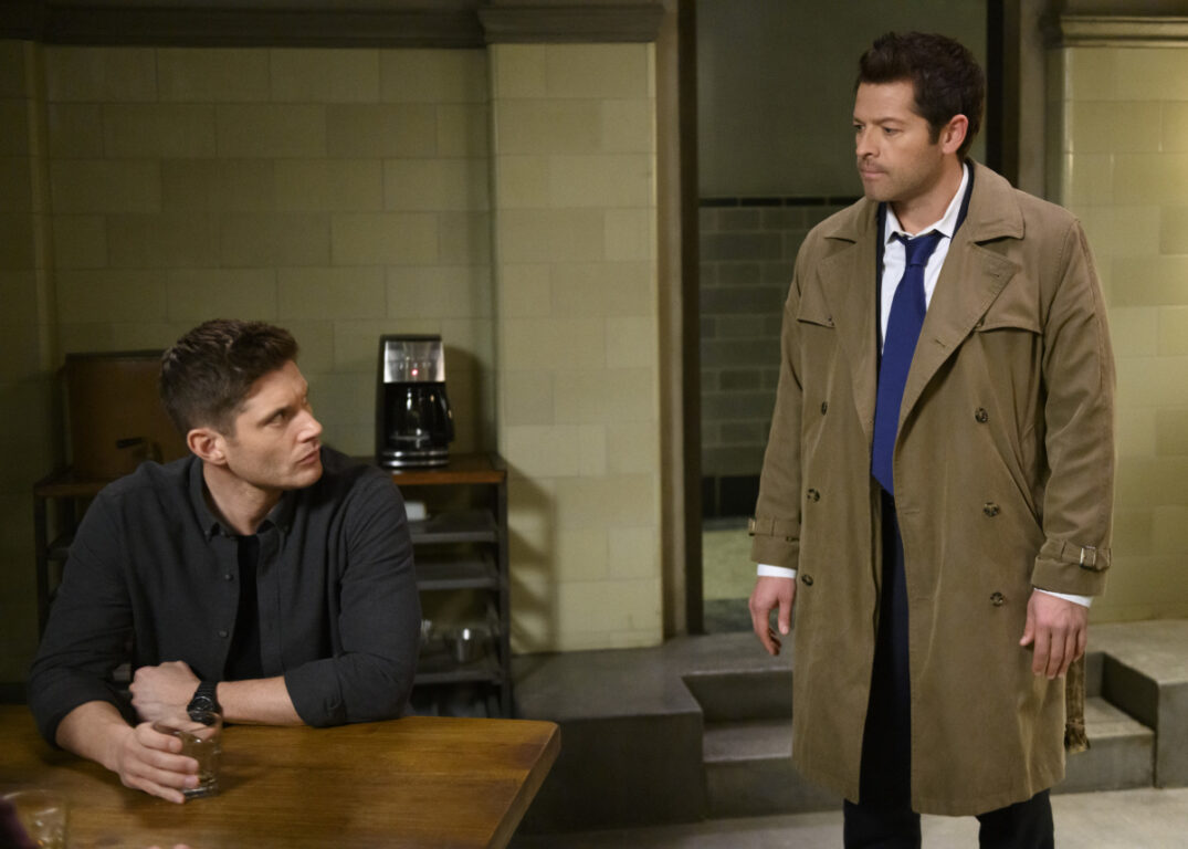 Castiel reports new information in Supernatural, Jack in the Box