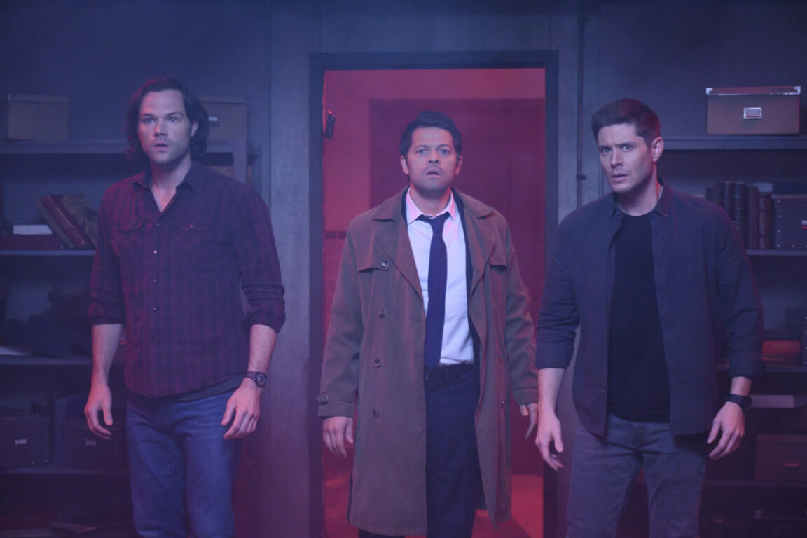 Sam, Castiel and Dean face a new threat in Supernatural, Jack in the Box