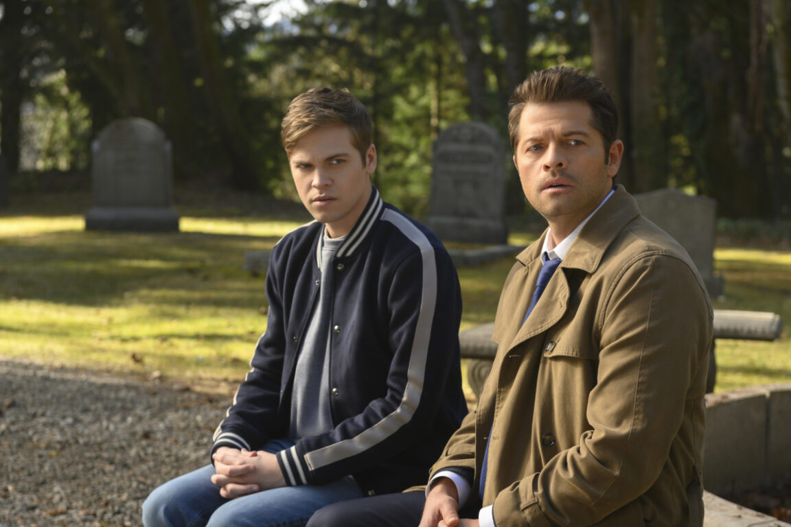 "Jack confides in Castiel in Supernatural, ""Moriah"""