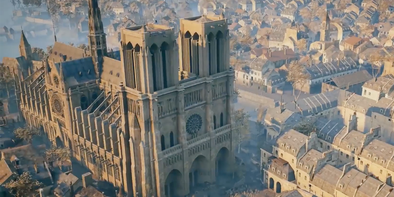 Ubisoft to Honor Notre Dame by Offering ASSASSIN'S CREED UNITY for Free