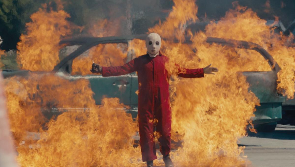 scene from horror movie Us by Jordan Peele