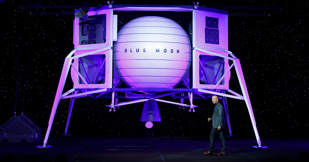 Blue Origin's Blue Moon Is a New Kind of Lunar Lander