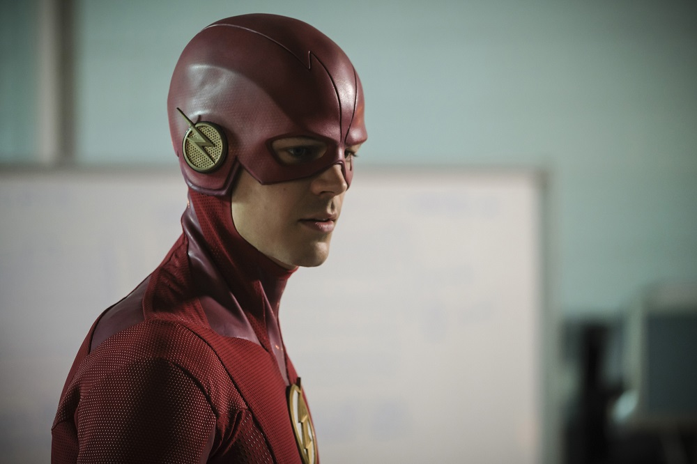 "Grant Gustin as The Flash The Flash -- ""The Girl with The Red Lightning"""