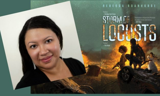 GGA Indigenerd Wire: A Review of STORM OF LOCUSTS by Rebecca Roanhorse