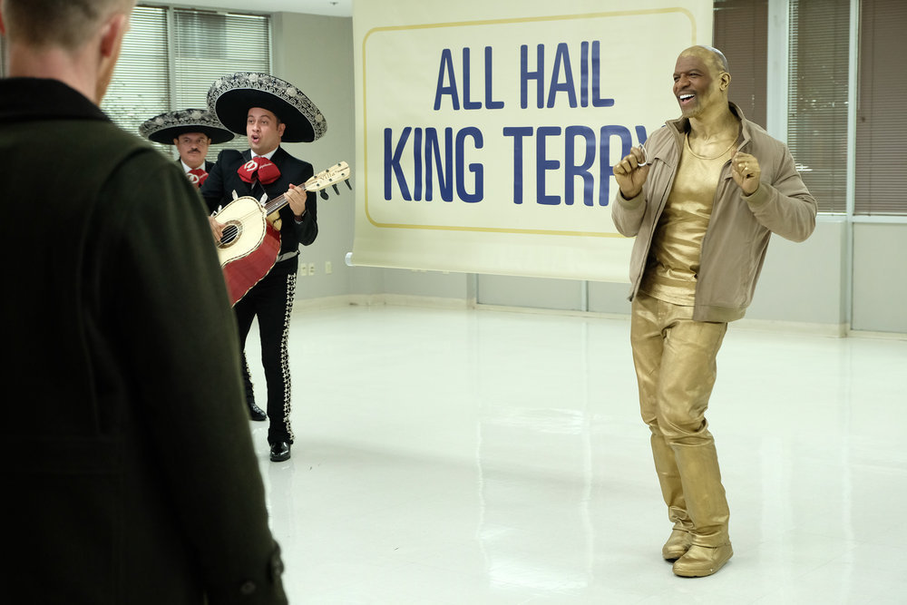 Still of Terry Crews in Brooklyn Nine-Nine.