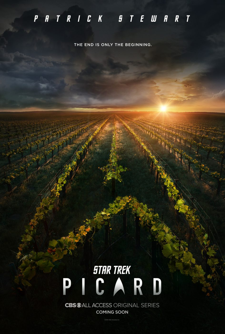 CBS Star Trek: Picard first teaser poster