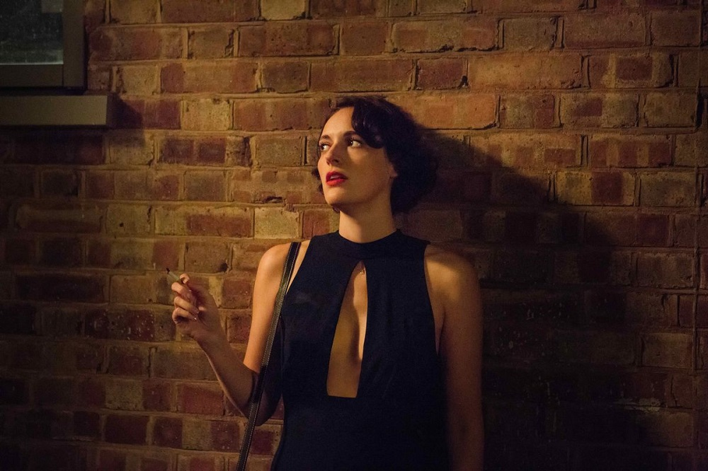 Still of Phoebe Waller-Bridge in Fleabag.