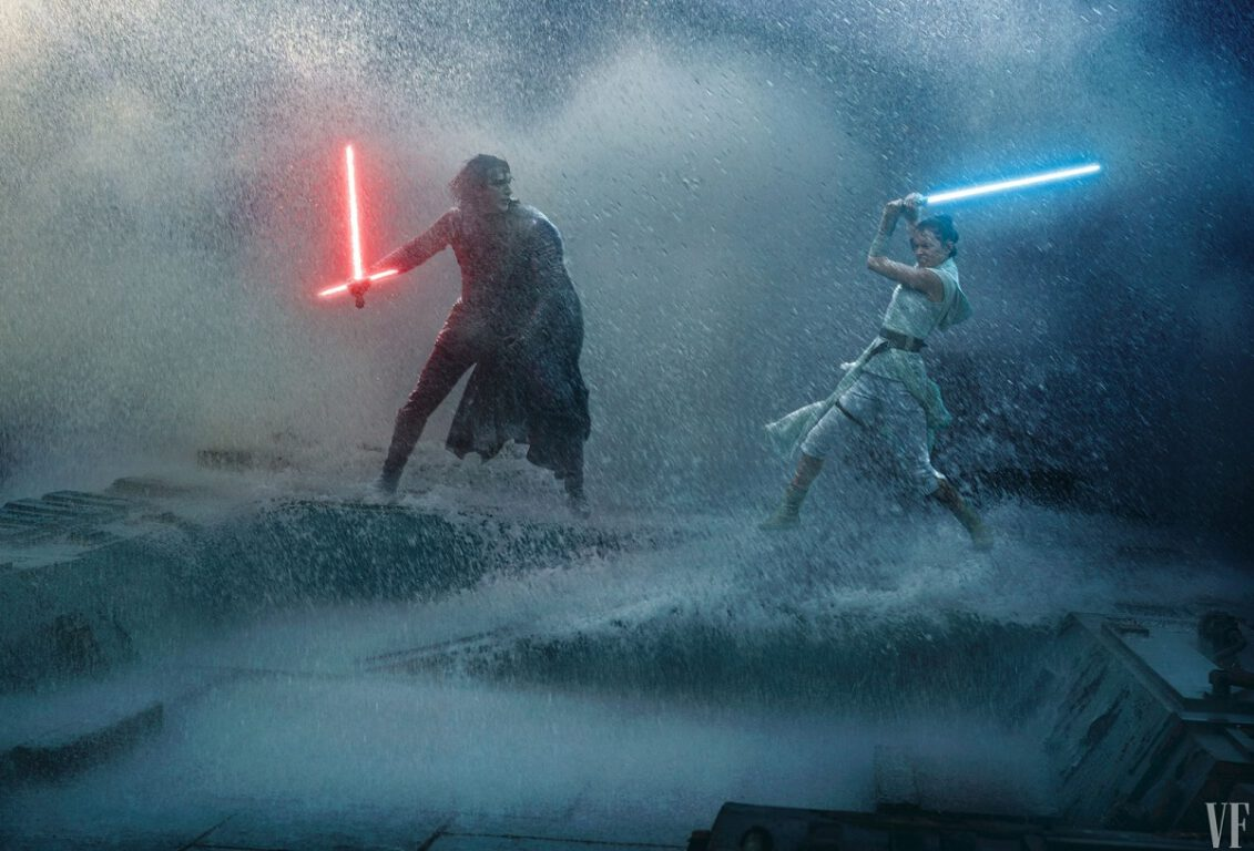 Star Wars: Rise of Skywalker First Look at Rey and Kylo's saber battle