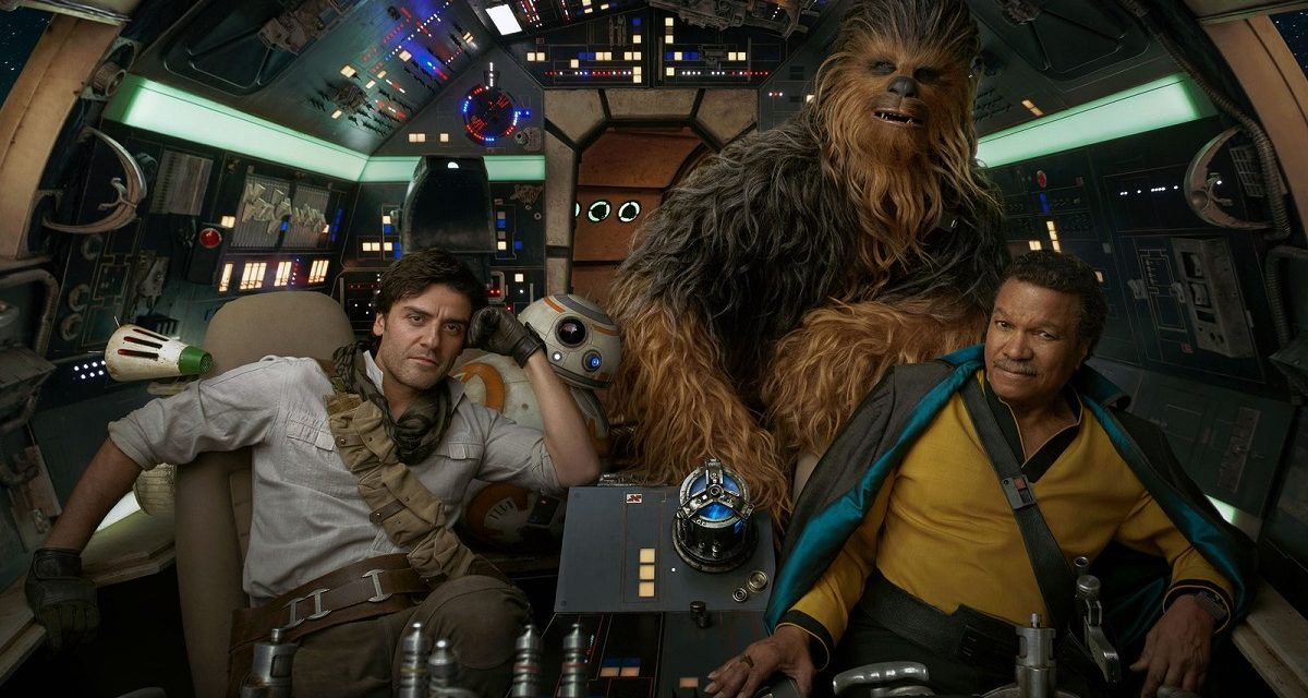 First Look at STAR WARS: THE RISE OF SKYWALKER Photos Released