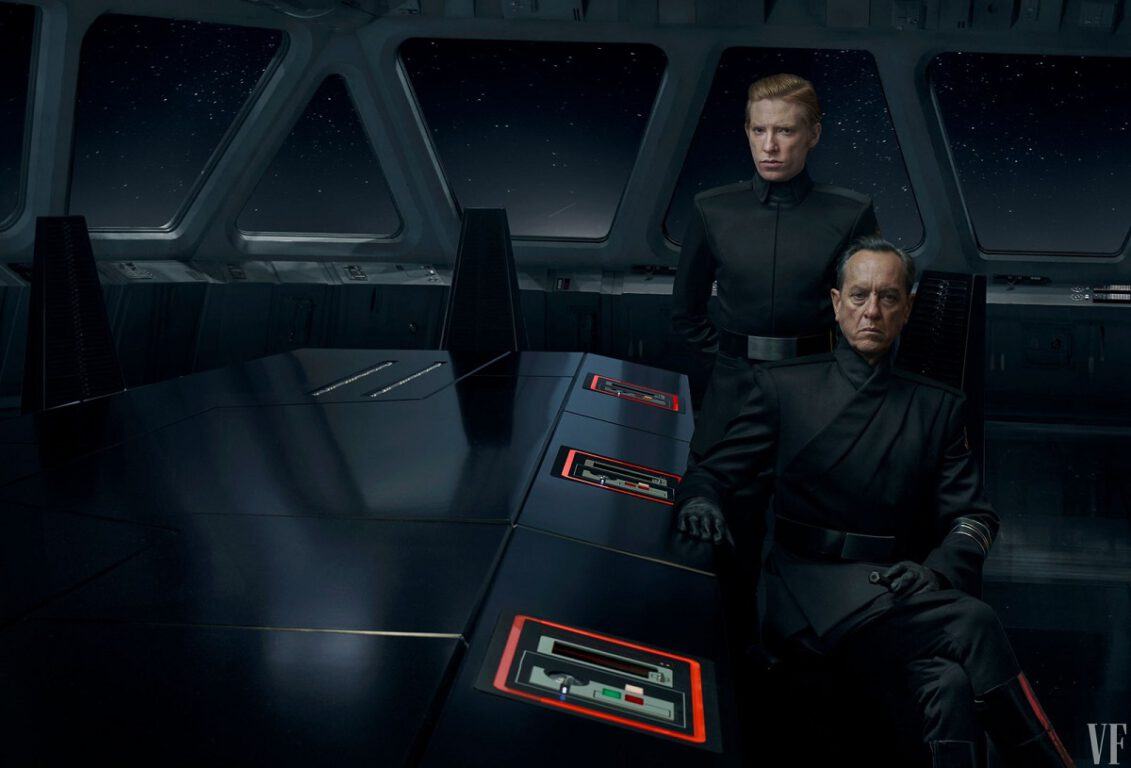 Star Wars; Rise of Skywalker First Look at General Hux and Allegiant General Pryde