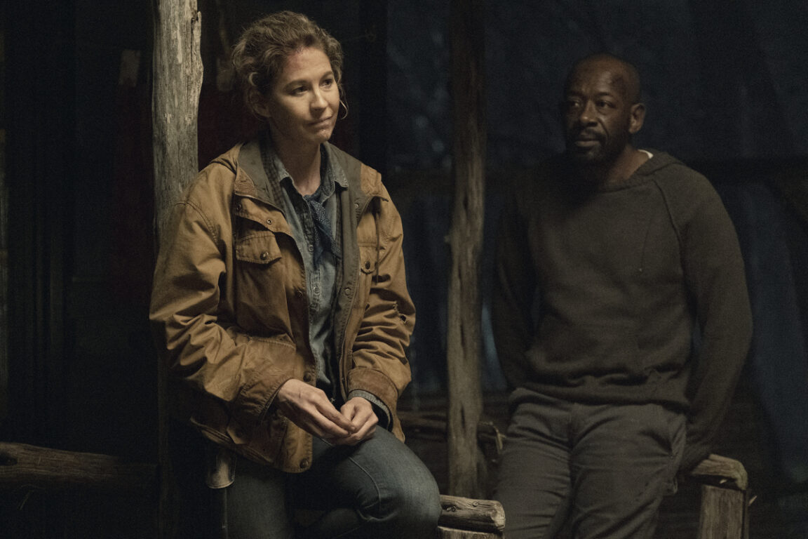 June and Morgan regroup on Fear the Walking Dead