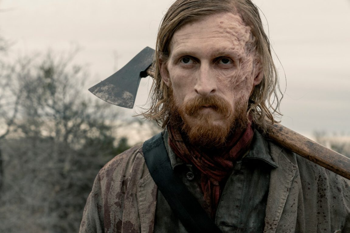 Austin Amelio is Dwight in Fear the Walking Dead.