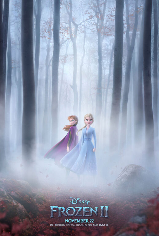 Frozen 2 promotional poster