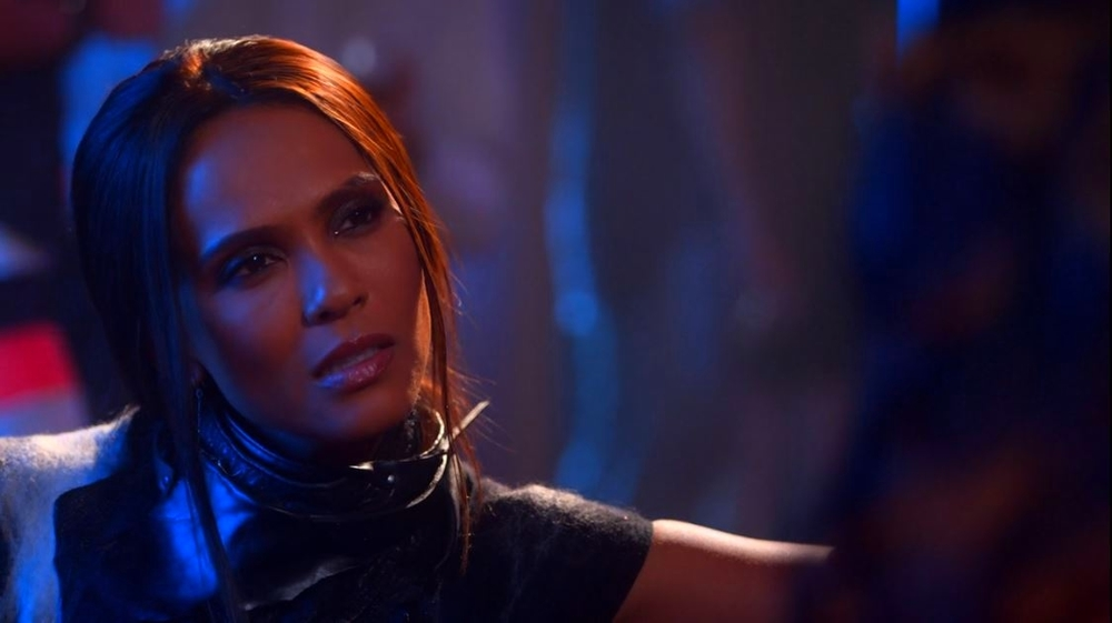 "Lesley-Ann Brandt as Mazikeen on Lucifer, ""Super Bad Boyfriend."" Courtesy of Netflix"