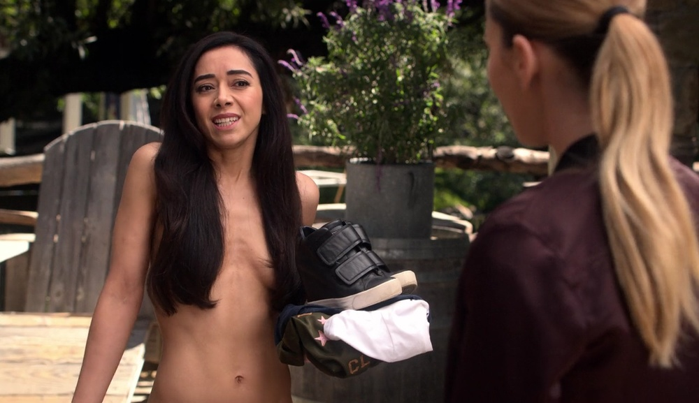 Ella goes to a nudist colony on Lucifer