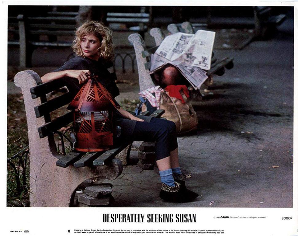 Rosanna Arquette as Roberta Glass in Desperately Seeking Susan